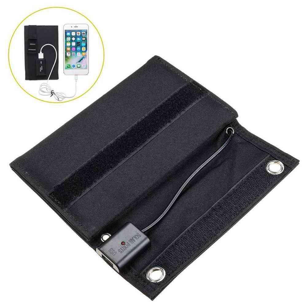 70w Portable Folding Waterproof Solar Panel For Outdoor Activities
