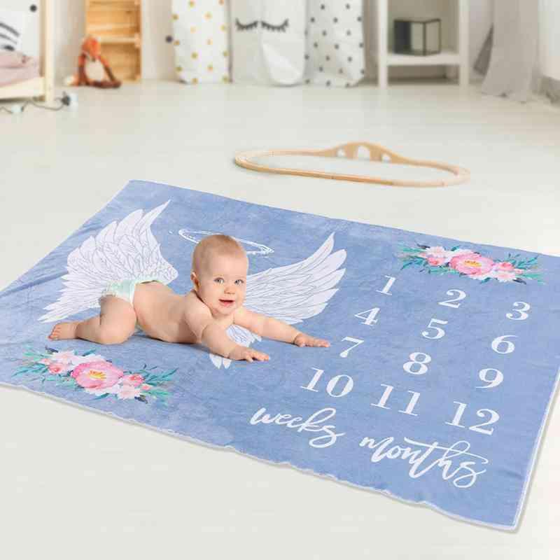 Baby Blanket, Elaborate Prolonged Durable Newborns Wings