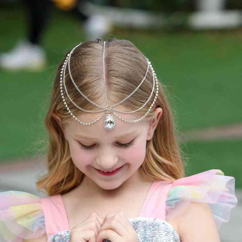 Forehead Braided Chain-girl Princess Hair Accessories