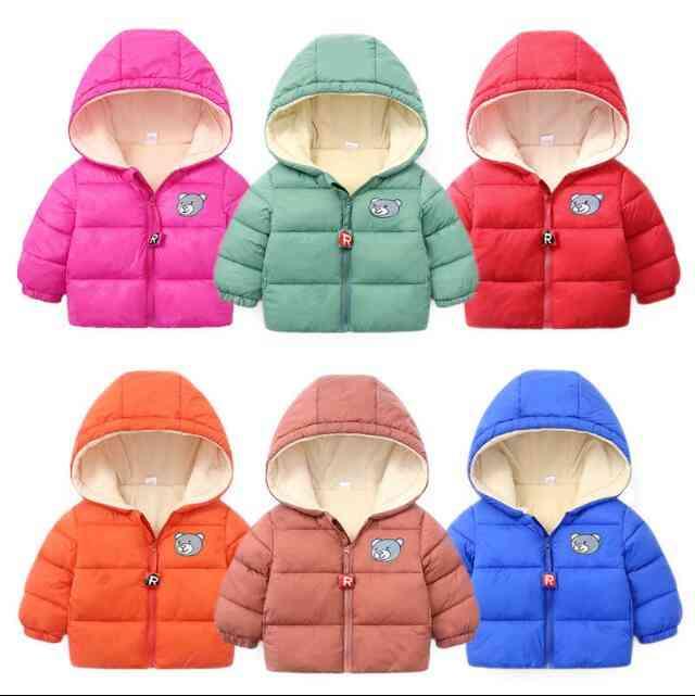 Kids Winter Warm-hooded Jackets