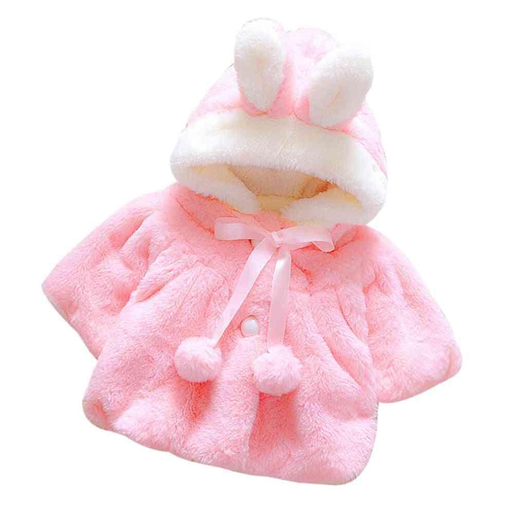 Autumn Winter Hooded Coat For Infant