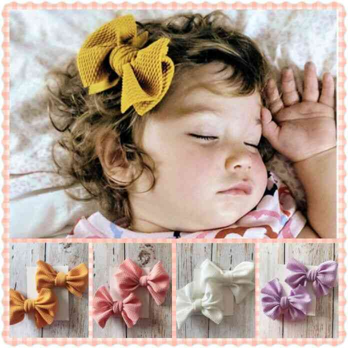Baby Girl Hair Bow Knot Clips