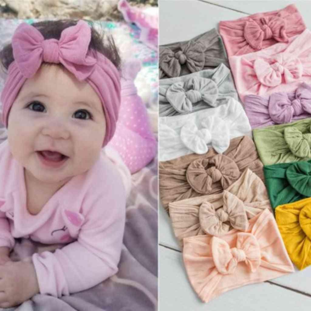 Baby Girl Headband- Bow Design Headwear