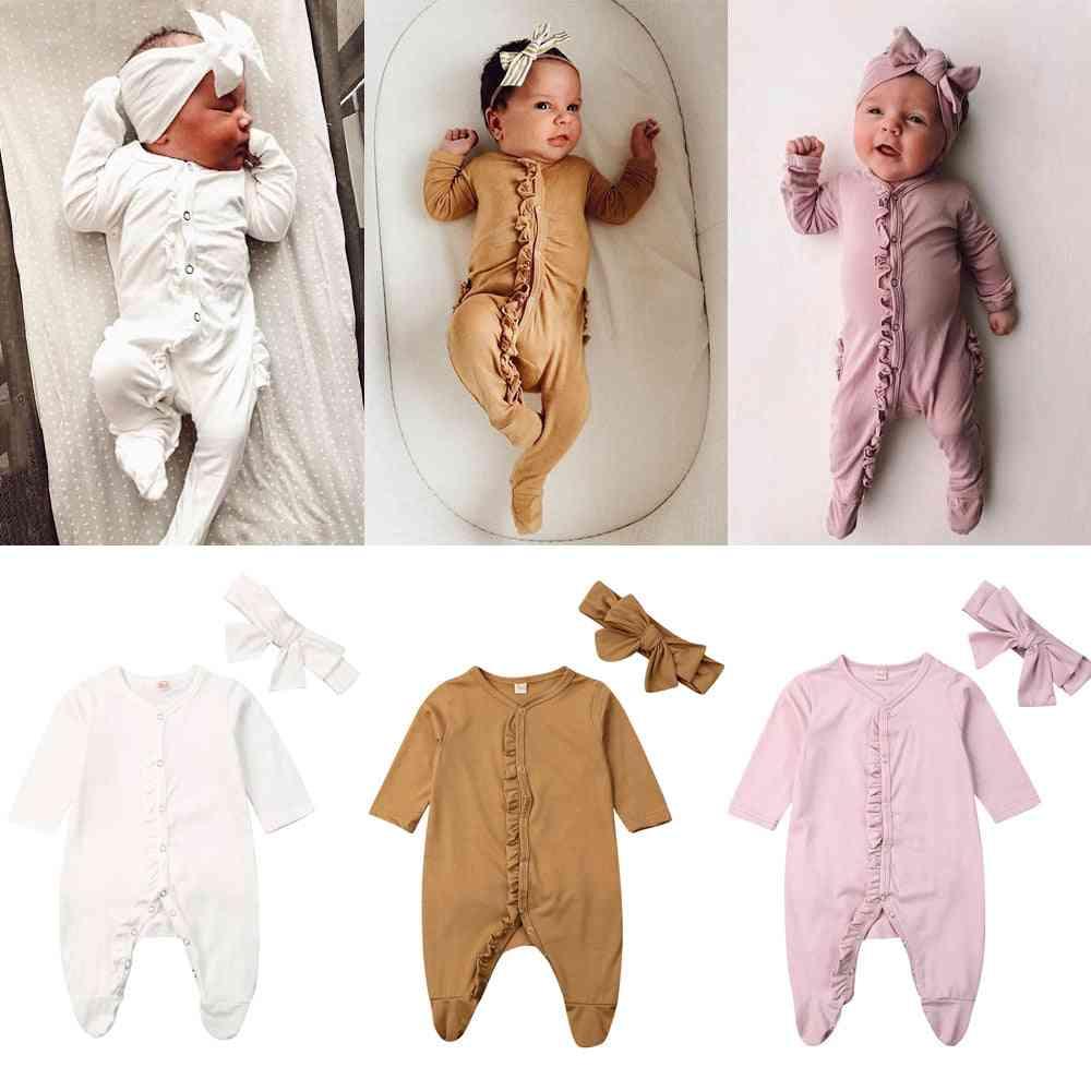 Long Sleeve Sleepwear For Newborn
