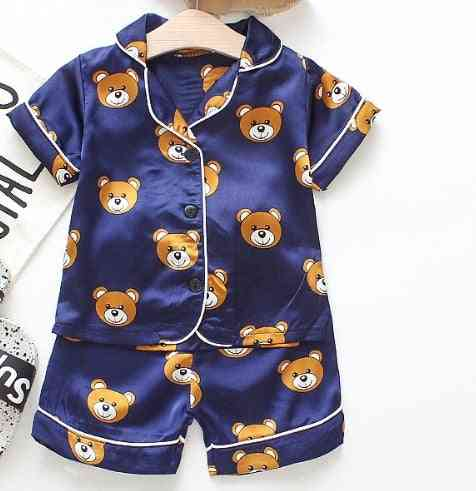 Set Of Satin Nightsuits For Kids