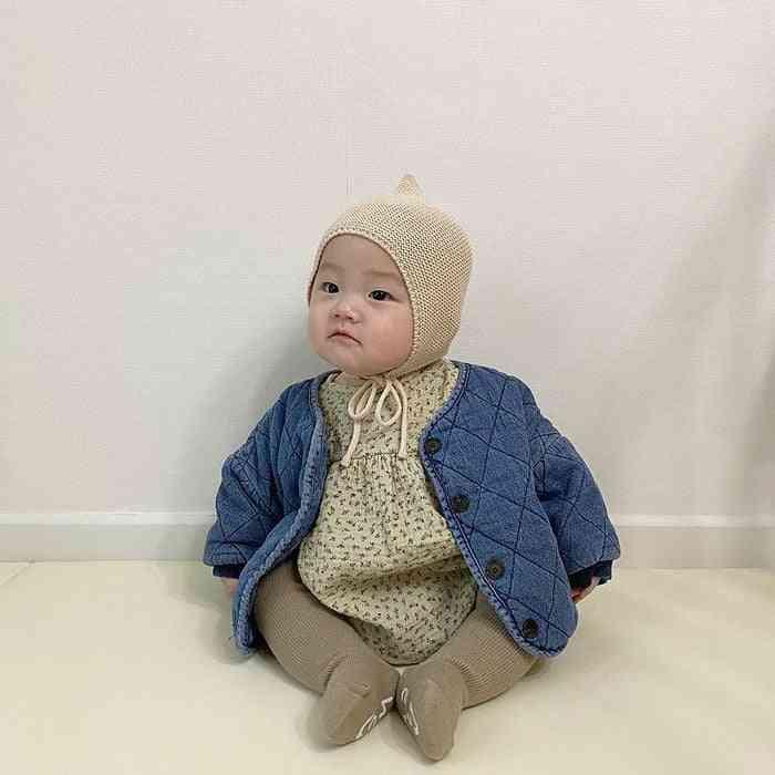 Kids Denim Casual Cotton Coat / Jackets