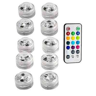 Rc Waterproof Smd3528 Submersible Led Lights, Rgb Underwater Lamp