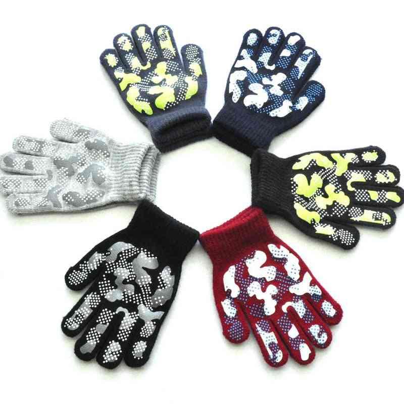 Winter Warm Knit - Pvc Anti Slip Gloves