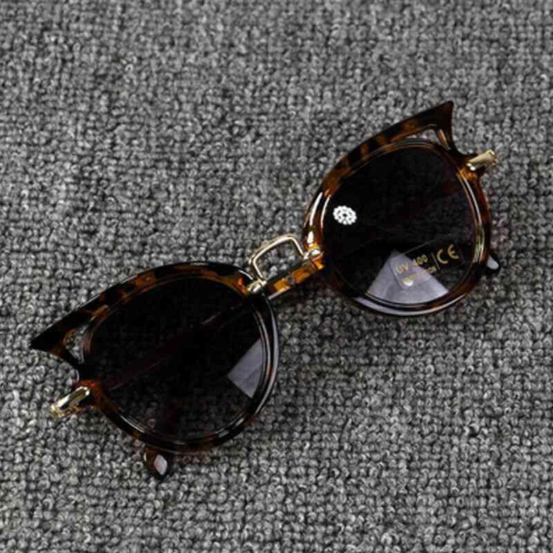 Cat Shape  Baby Sunglasses Accessories- Kid Goggles