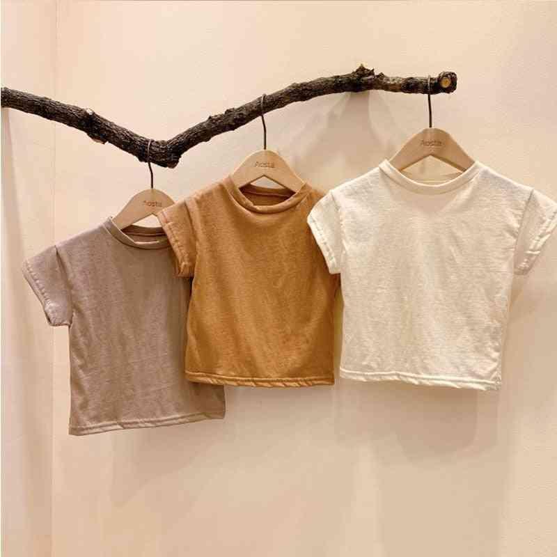 Baby T-shirts Short Sleeve Tops