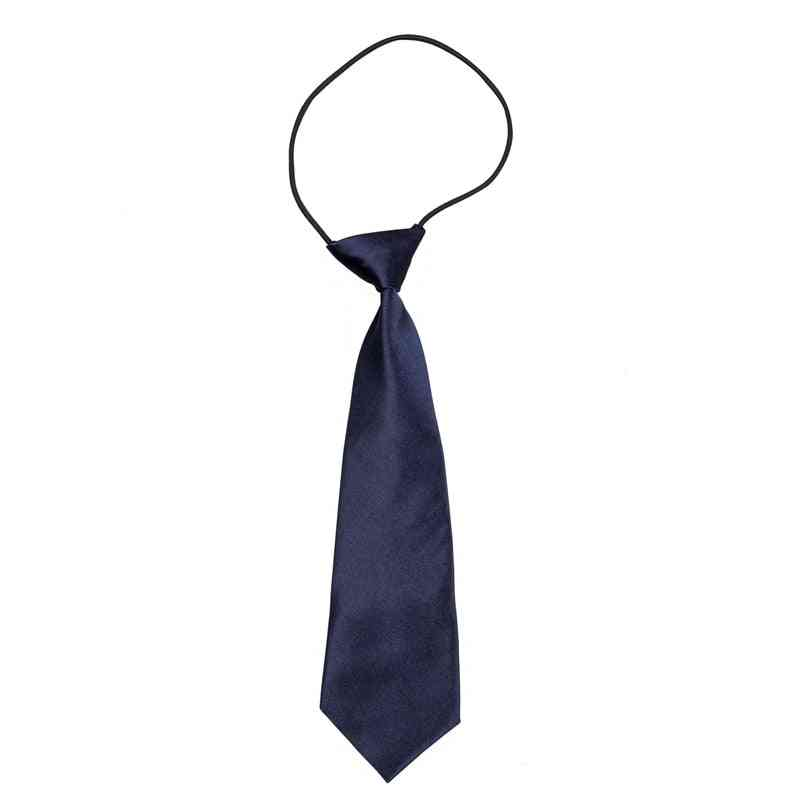 Solid Blue Neck Tie, Polyester