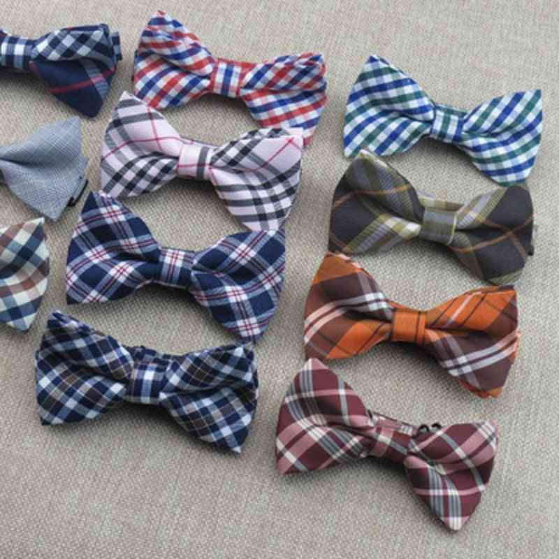 Baby  Bow Ties, Adjustable Cotton Slim Shirt Tie Accessories