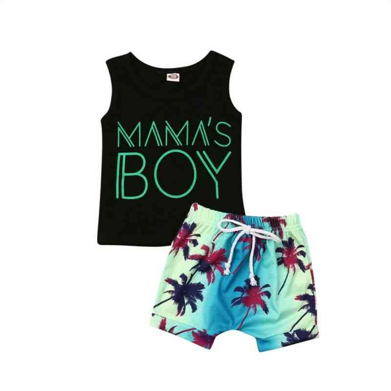 Baby Boy Casual Clothes, T-shirt Tops + Shorts Pants Outfit