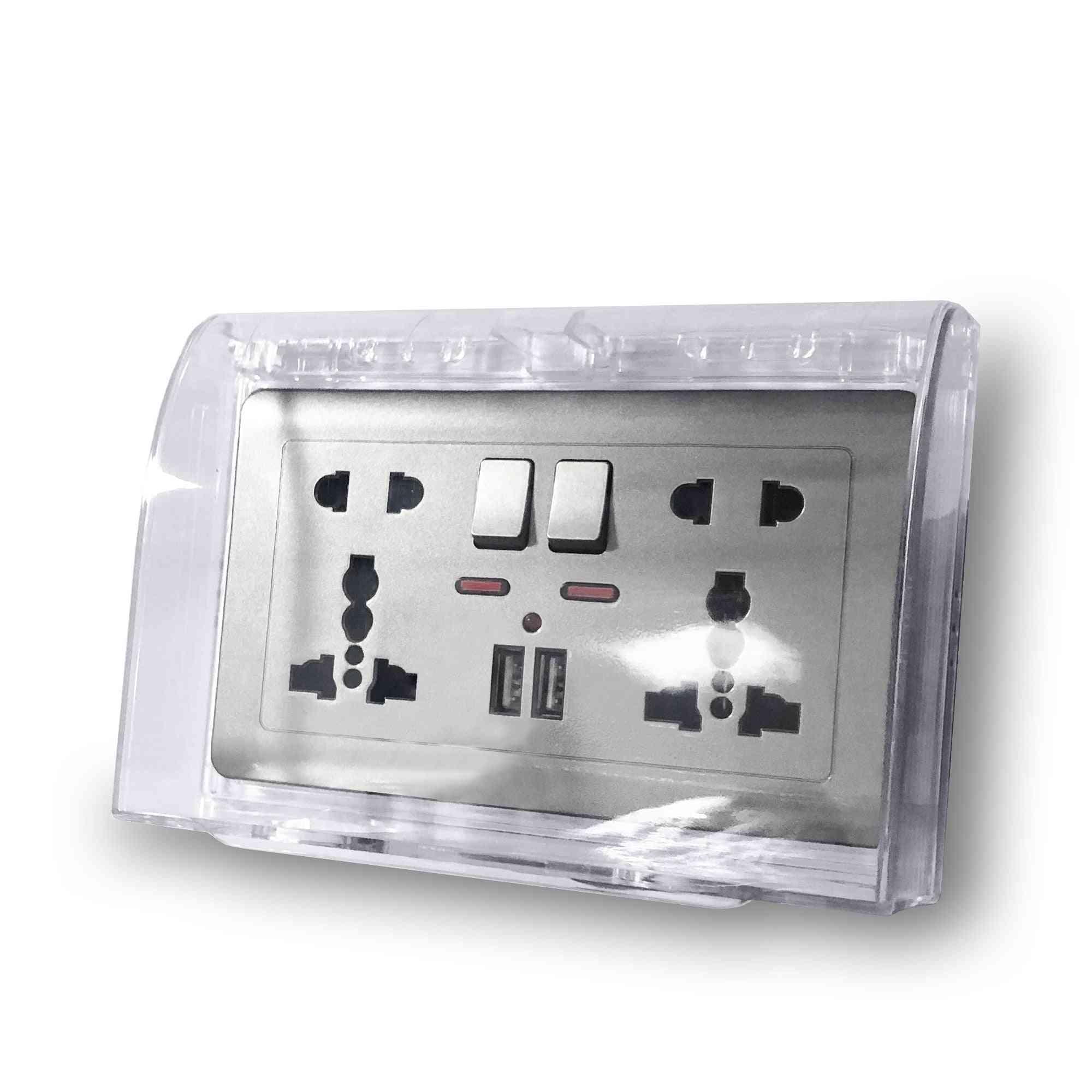 Rectangular Standard Switch Socket Protective Box, Waterproof Cover