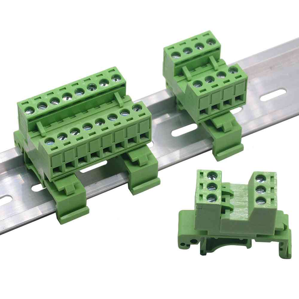 1pcs Rail Type Solderless Wire Terminal Connector Row