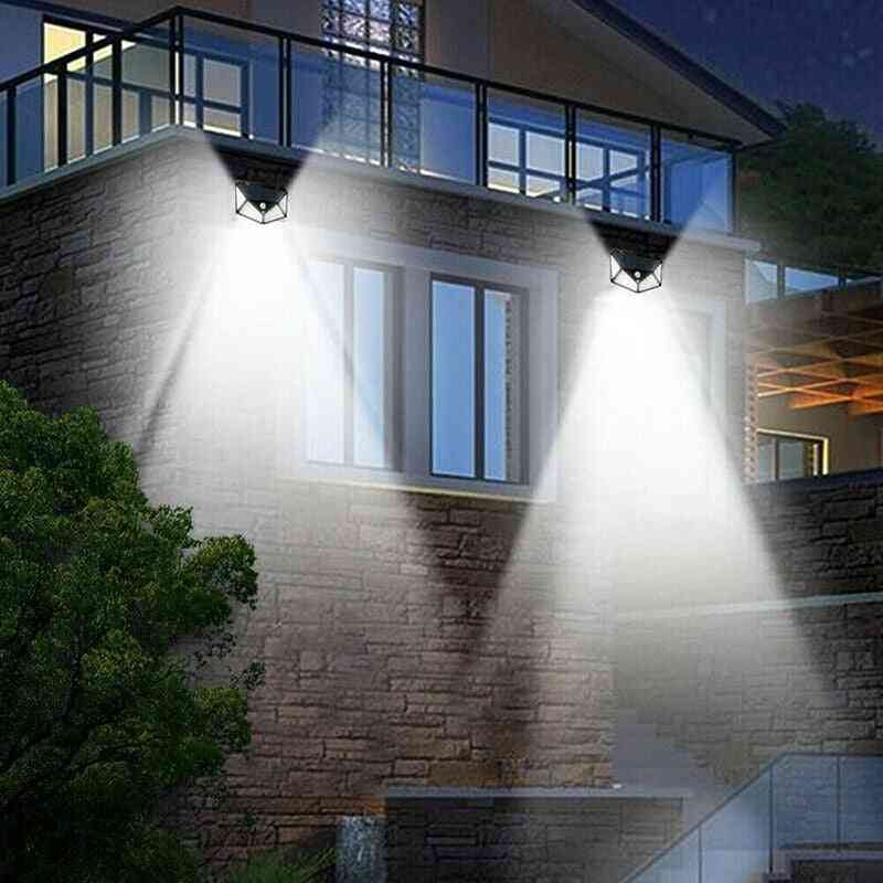 Led Solar Powered Light With Motion Sensor And 3 Modes