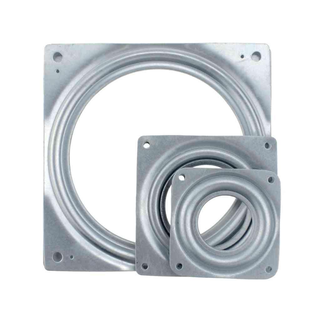 Bearing Metal Swivel Plate Rotation 360 Degrees