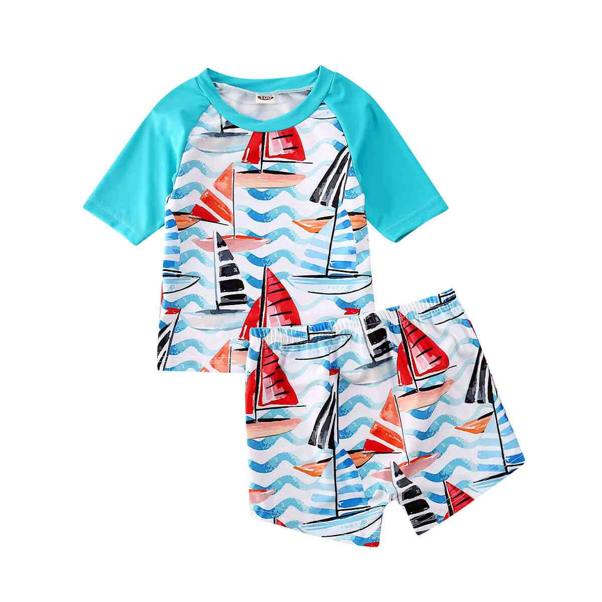 Baby Swimwear, Boy Bathing Suit Bikini Set