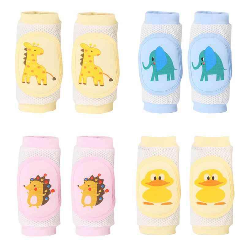 Baby Mesh Knee Leg Warmers - Safety Crawling Elbow Cushion Pad