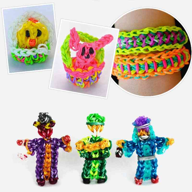 Rubber Elastic Band For Weaving Lacing Toy