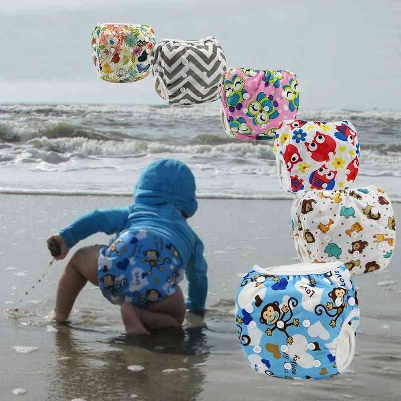 Baby Swim Diaper Wear Leakproof Reusable Adjustable For Infant Boy / Girl