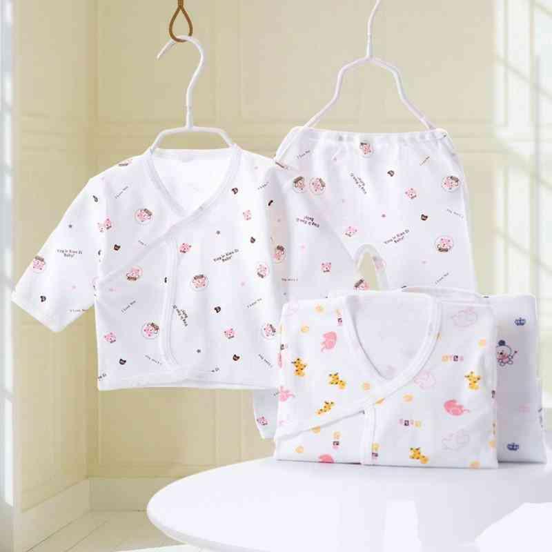Newborn Baby Cute Pajamas Underwear Infant Cotton Clothing Set