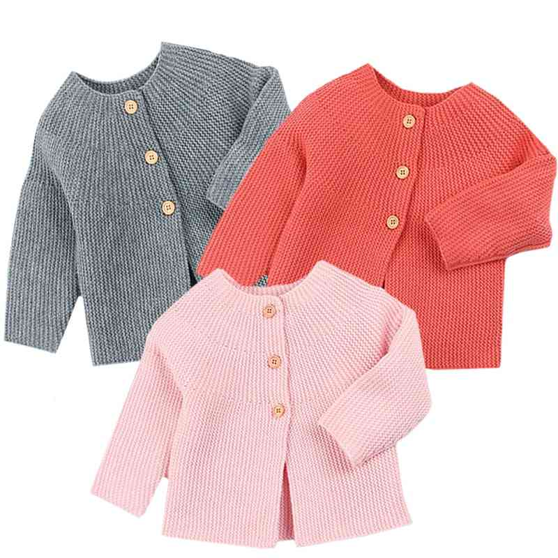 Long Sleeve, Knitwear Spring Cardigans For Babies