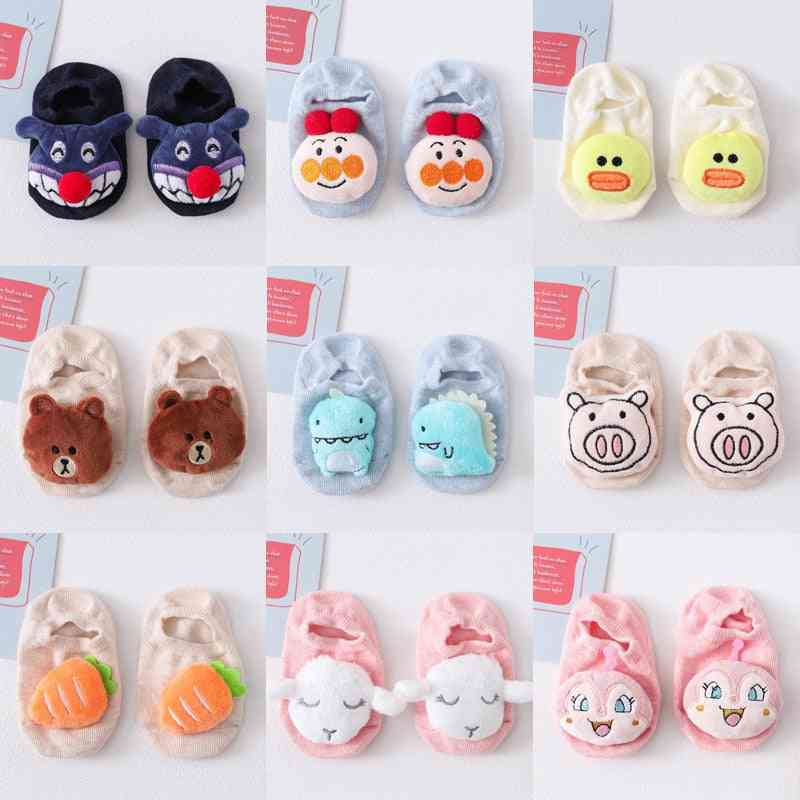 Anti Slip, Cute Cartoon-cotton Socks