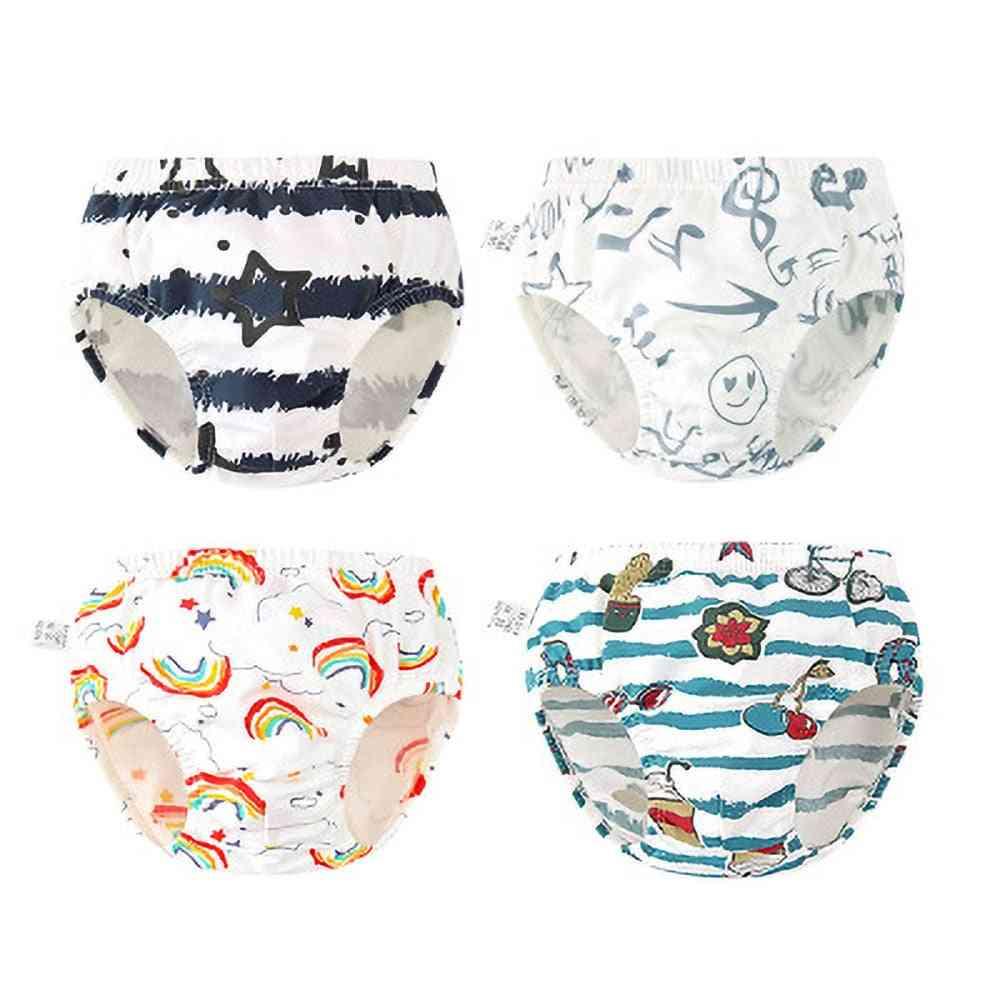Underwear Spring And Summer Printing Boy Panties Wear