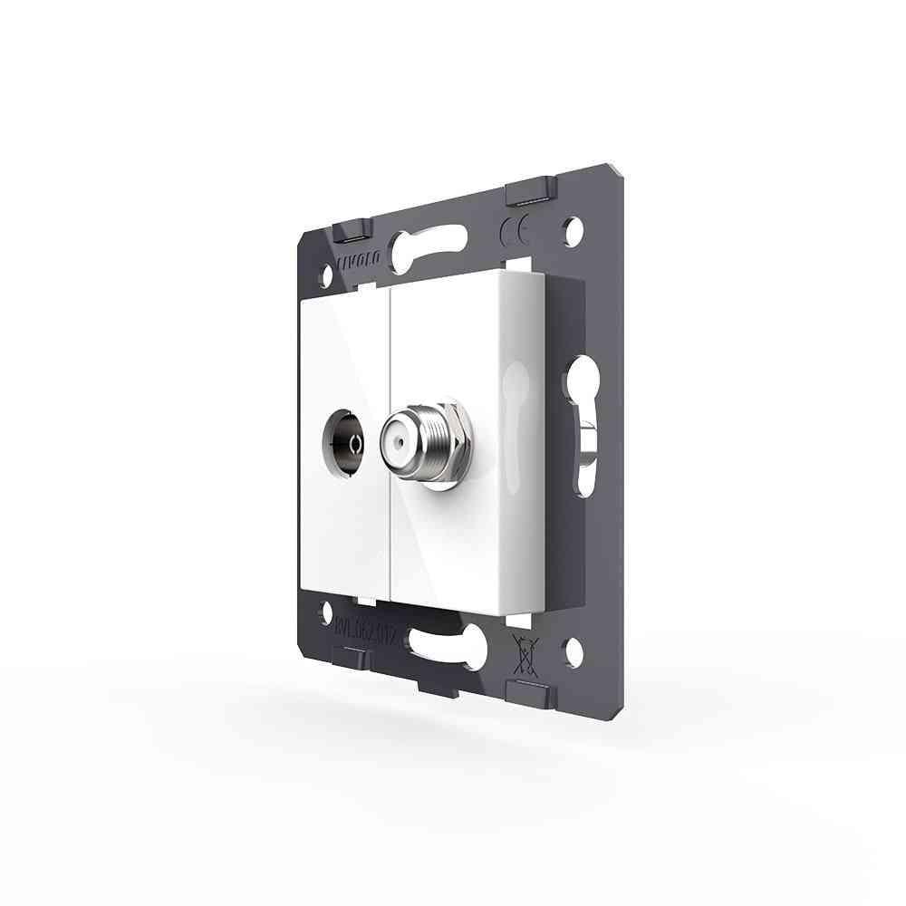 Eu Standard -satv & Tv Socket Accessory