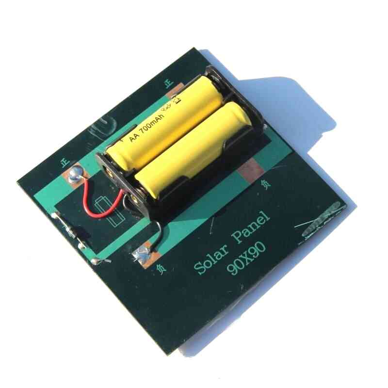 1w 4v Solar Charger Panel For 2xaa Batteries