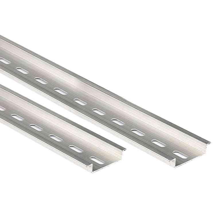 Universal  0.5 Meter Aluminum Slotted Din Rail
