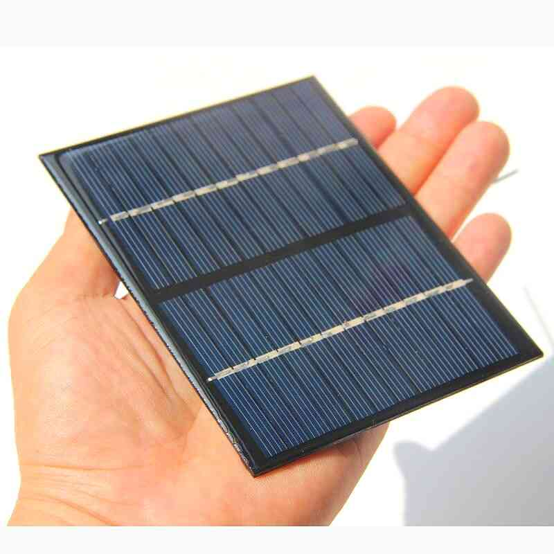 1.5w, 12v Polycrystalline Solar Charger Panel With Cable Wire