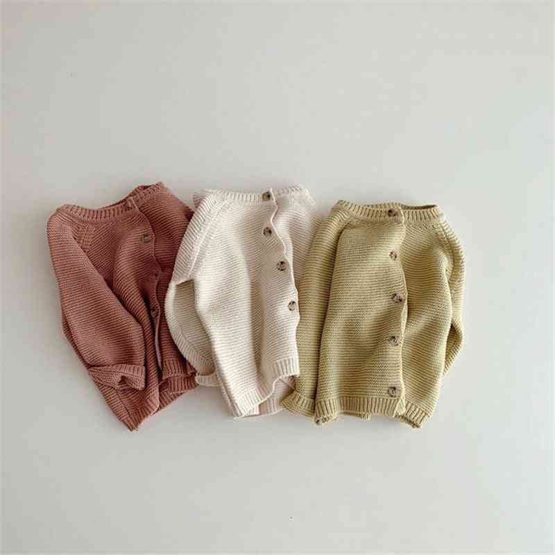 Autumn & Winter Knitted Cardigans, Cute Long Sleeve Sweaters