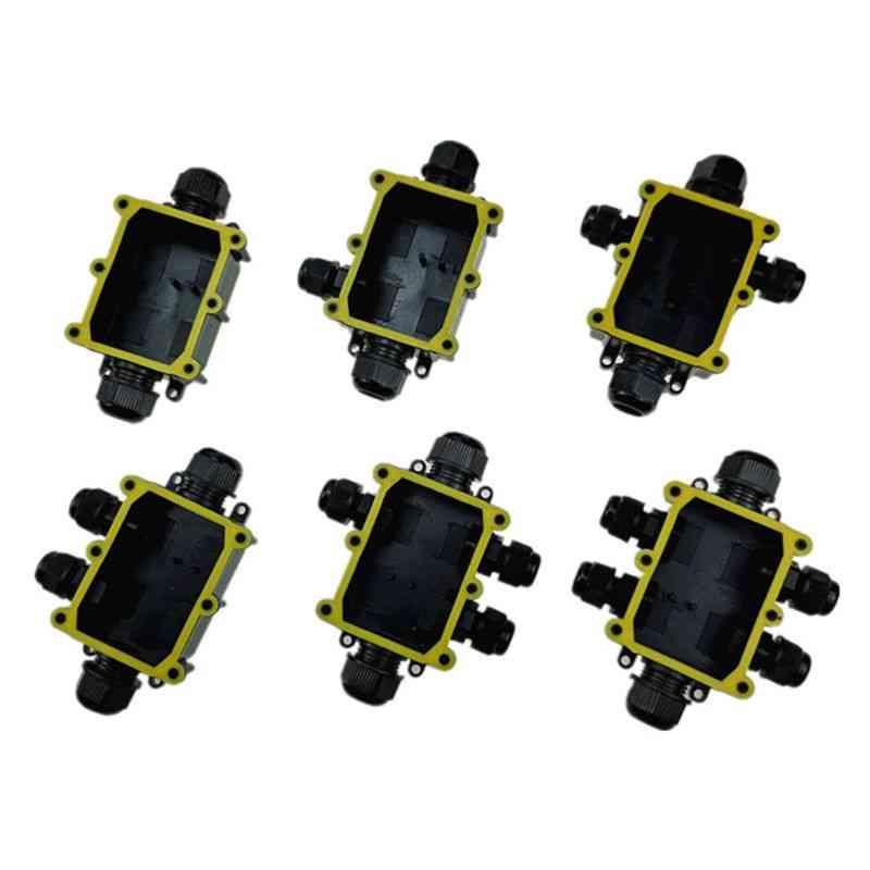 Ip68 Waterproof , Uv Sunproof Electrical Junction Box
