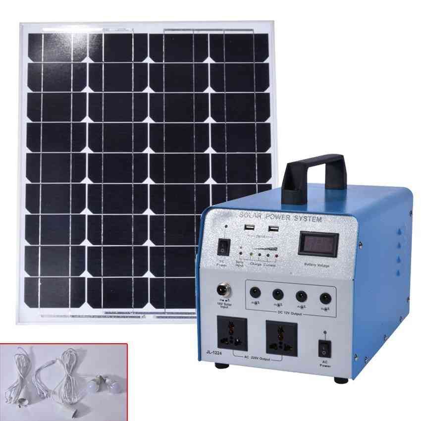 Solar Power Generation System And Panels