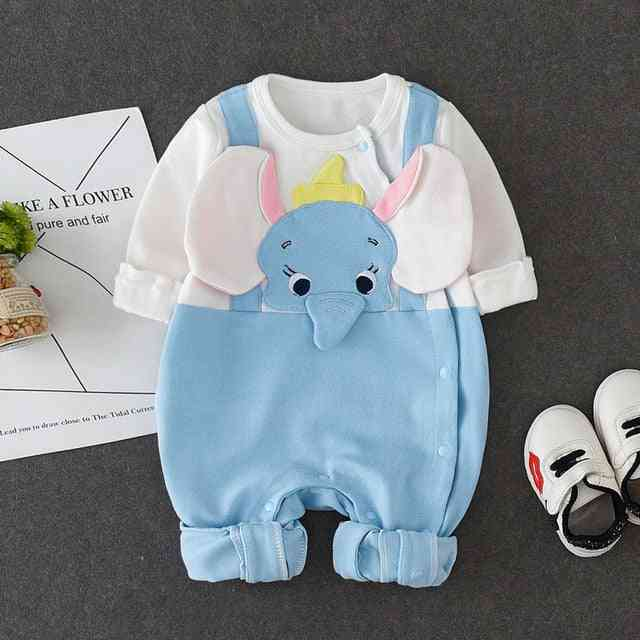 Newborn Baby Jumpsuit, Cotton Covered
