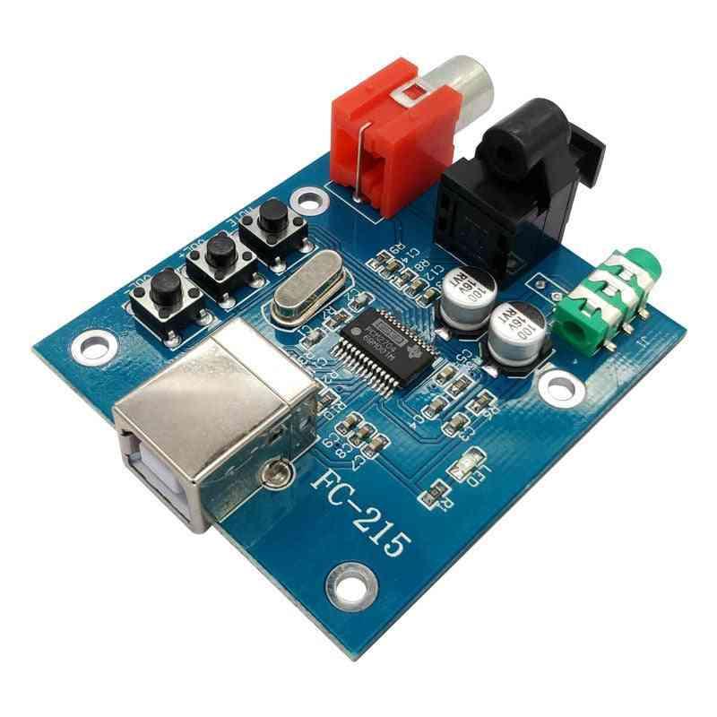Audio Dac Usb To S/pdif Sound Card Hifi Decoder Board