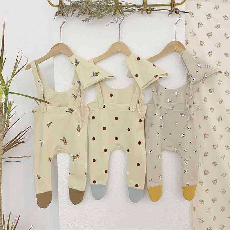 Baby Clothes Sleeveless, Rompers, Hat, Jumpsuit For Kids