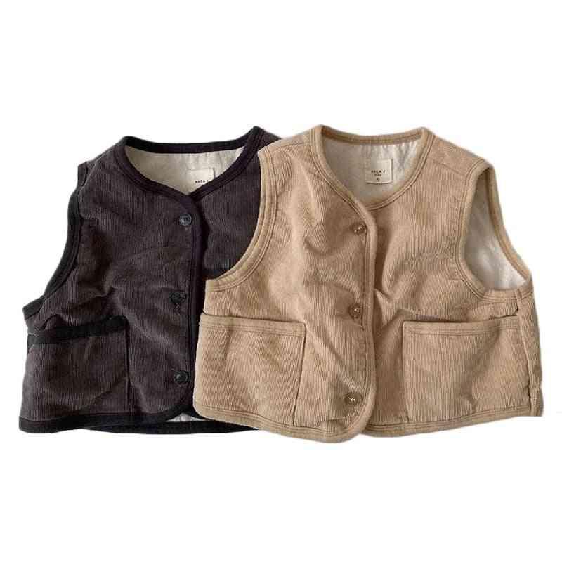 Children Waistcoat / Hooded Vest