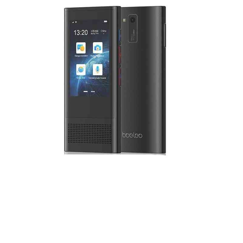 Ai Voice Global Translator, Sim 4g Wifi Bluetooth 1+8g 117 Language, Photo Touch Screen