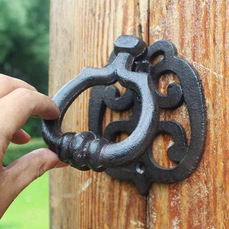 American Style Vintage Door Cast, Iron Door Knock