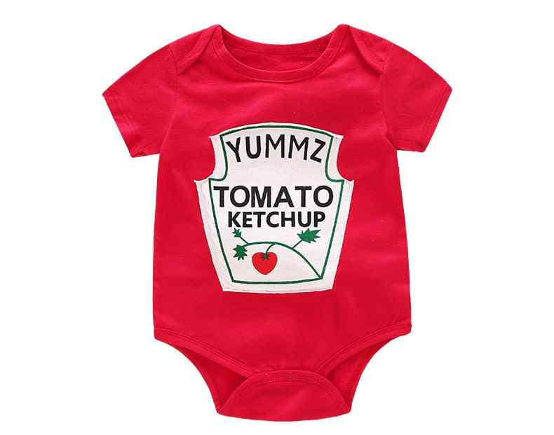 Baby/ Clothes, Short Sleeved Letter Printed