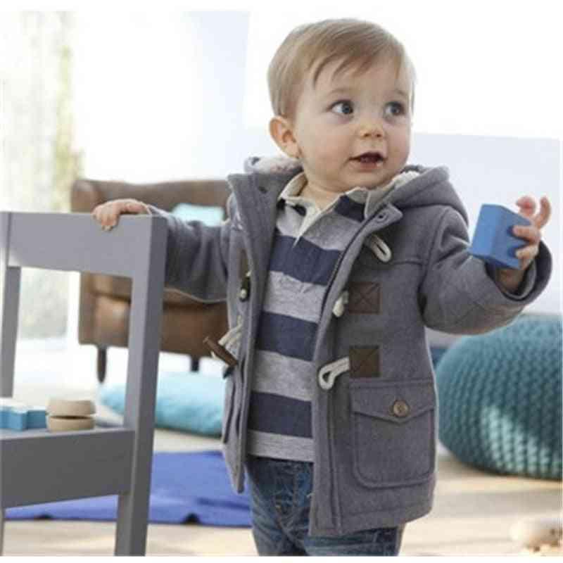 Winter Jacket For Baby Kids Warm, Hooded Outerwear Coat