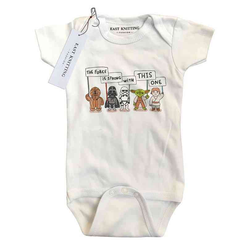 Baby Bodysuits Newborn Clothes Cotton Short Sleeve Outfits - Summer Clothes Tops Outwear