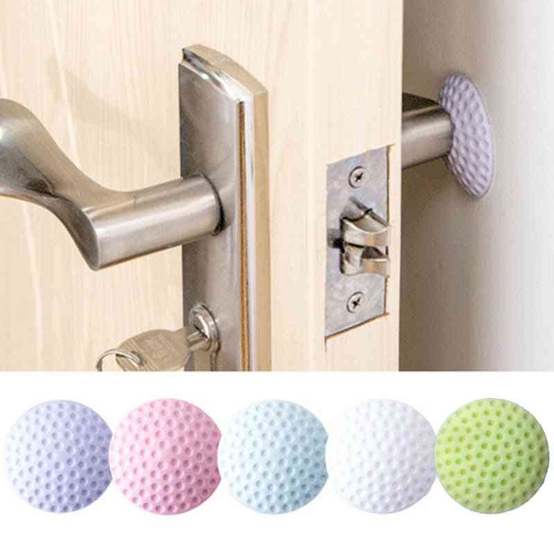 Soft Rubber Pad To Protect The Wall Self Adhesive Door Stopper