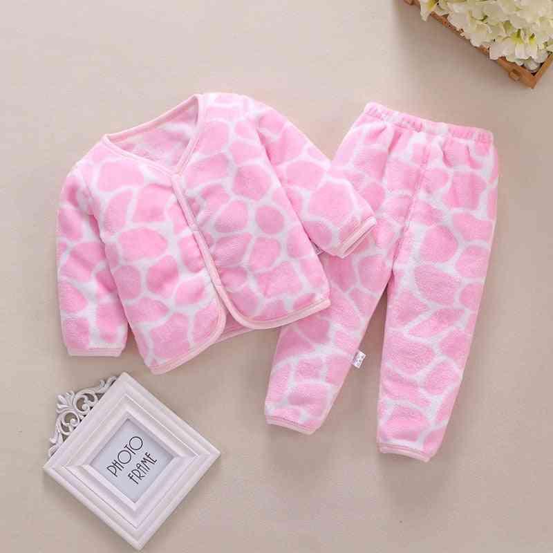 Baby / Clothes, Warm Pajamas Infant Underwear Set