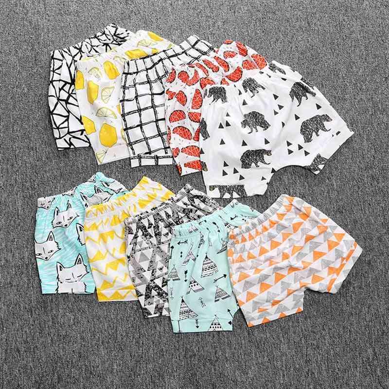 Cartoon Animal Pattern-printed Short Pants
