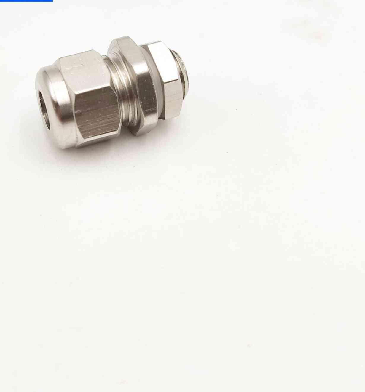 Ip68 Waterproof-  M8 Metal Cable Gland
