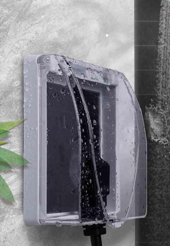 Wall Socket Waterproof Board Panel Switch Protection Box,